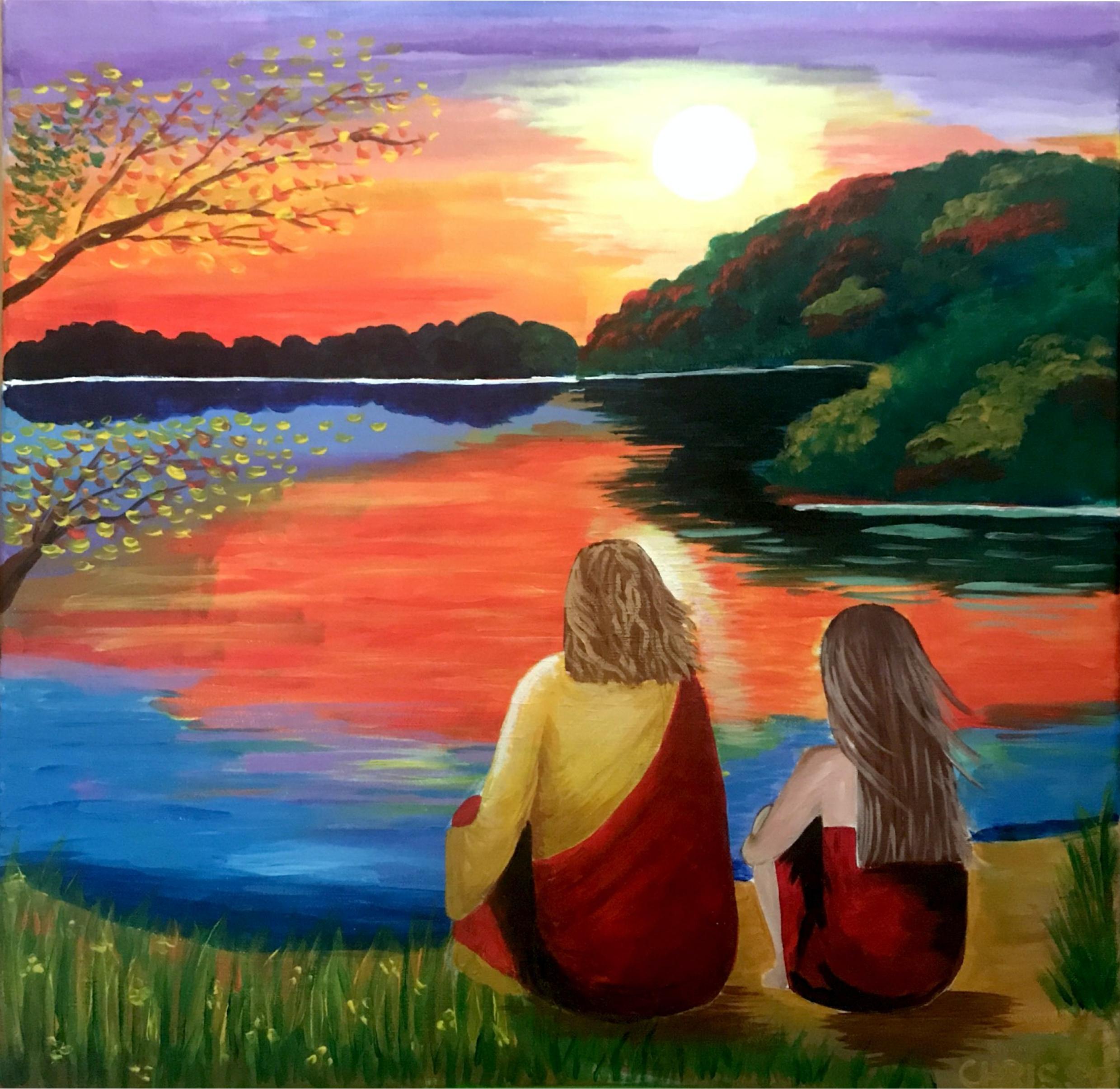 Faith | Acrylic on Canvas | Marychrisse Villanueva