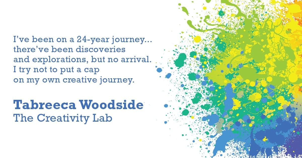 """""""The Creativity Lab""""   March 17 at 7:30pm"""
