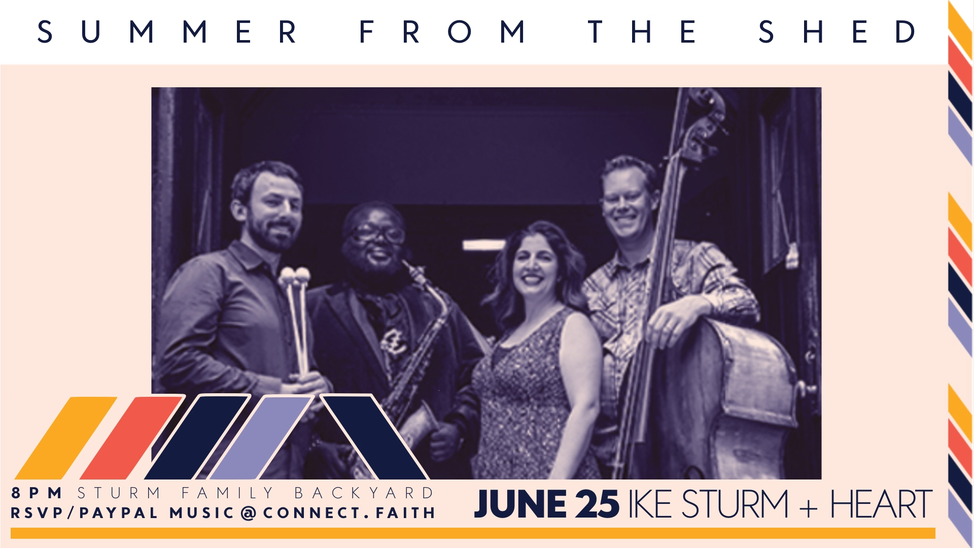 Summer from the Shed | Ike Sturm + Heart | connect.faith