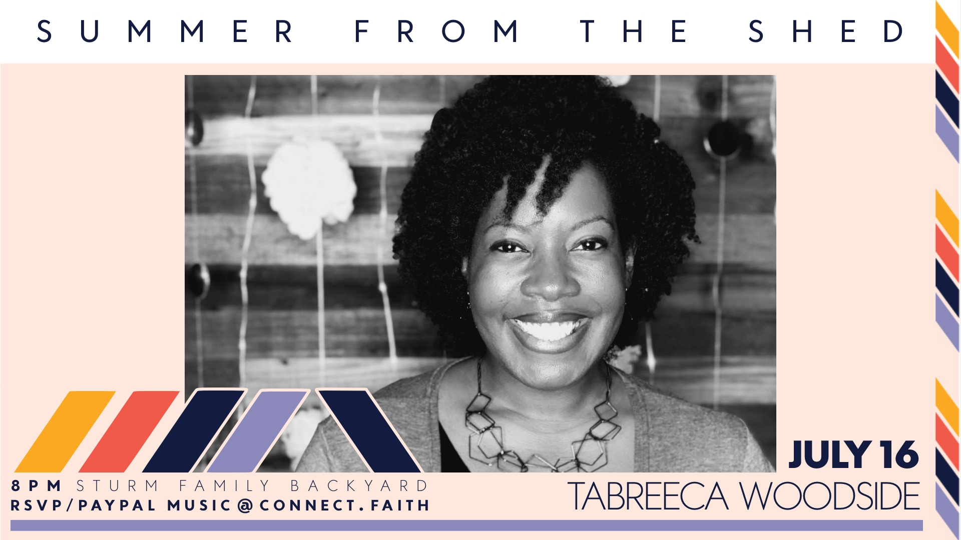 Summer from the Shed | Tabreeca Woodside | Concert